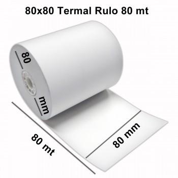 80mm Genişlik Termal Pos Rulosu